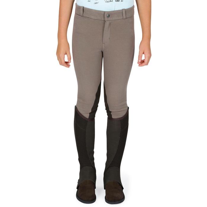 Pantalon équitation enfant BR140 basanes - 1083026