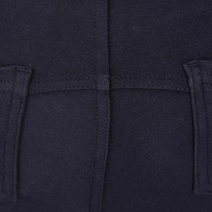 Pantalón equitación niños 140 badanas azul marino