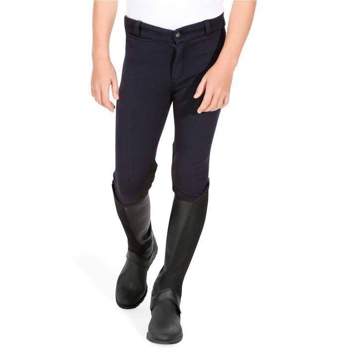 Pantalon équitation enfant BR140 basanes - 1083034