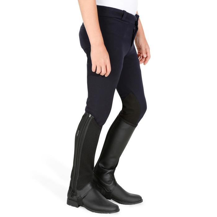Pantalon équitation enfant 140 basanes marine