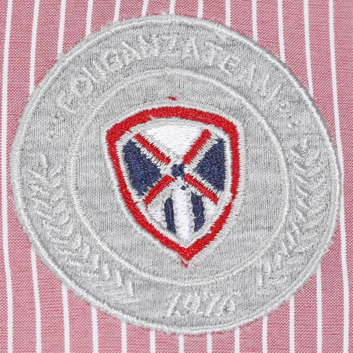 Chemise équitation femme PERFORMER rose rayé gris - 1083084