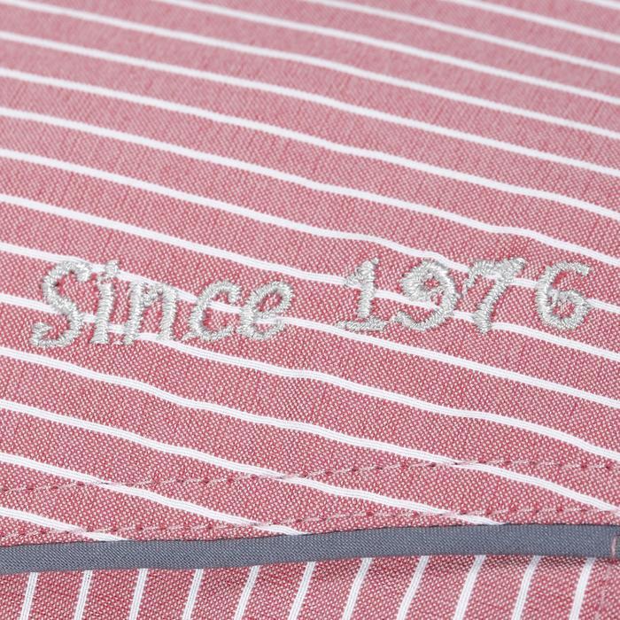 Chemise équitation femme PERFORMER rose rayé gris - 1083099