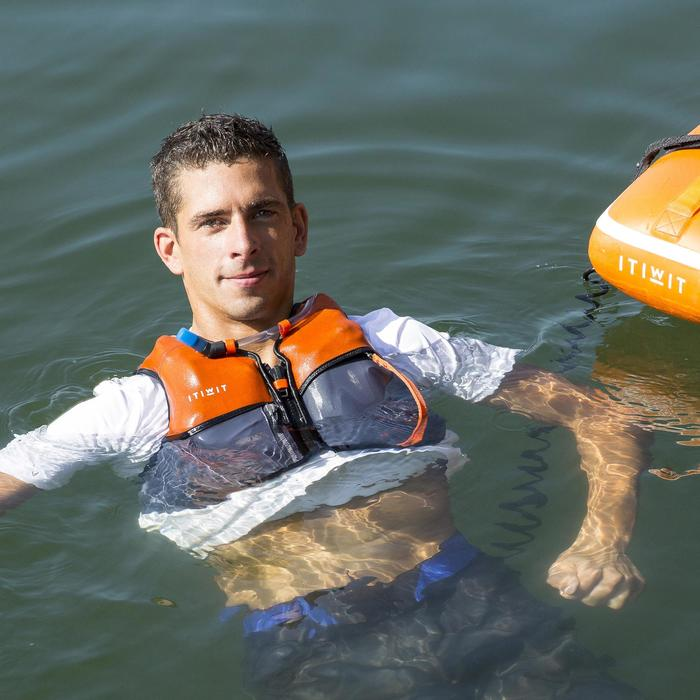 Chaleco De Ayuda a la Flotación Itiwit WAIRGO HYDRA 50N Naranja