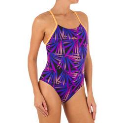 Damesbadpak voor zwemmen Lidia opi naxos paars