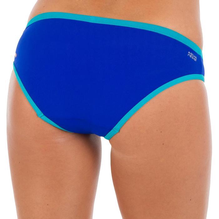 Bas de maillot de bain de natation femme Jade bleu