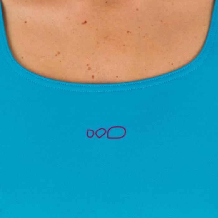 Bañador de natación una pieza para mujer Loran gris azul