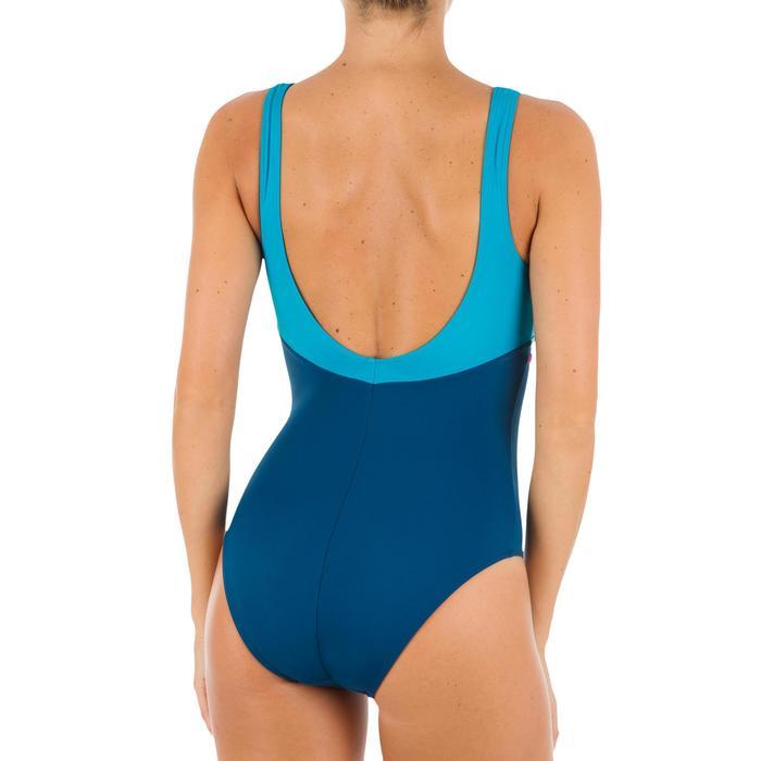 Maillot de bain de natation une pièce femme Loran corail - 1084671