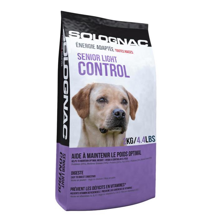 Pienso Perro Caza Solognac Alimentación Senior Light Control 2 kg