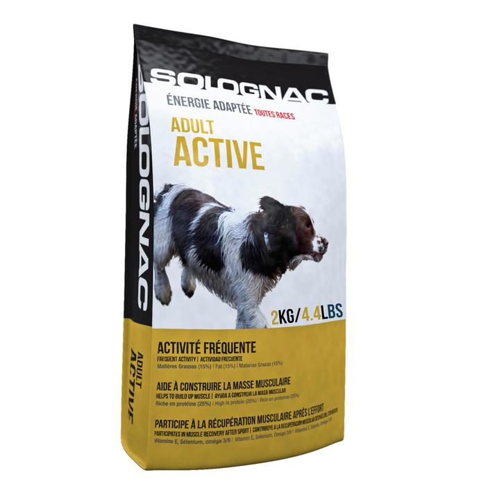 ALIMENTATION chien ADULT Active 2KG