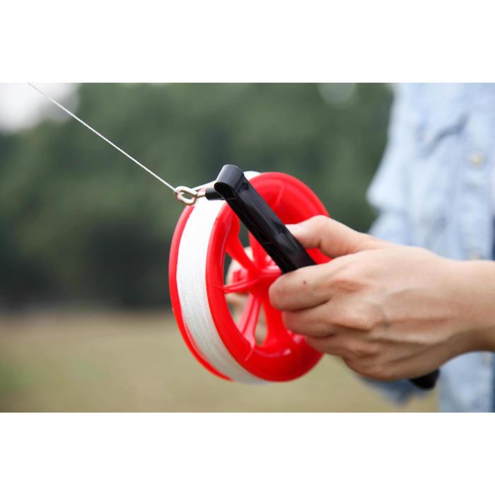 Greep met haspel 200 m voor eenlijnsvlieger