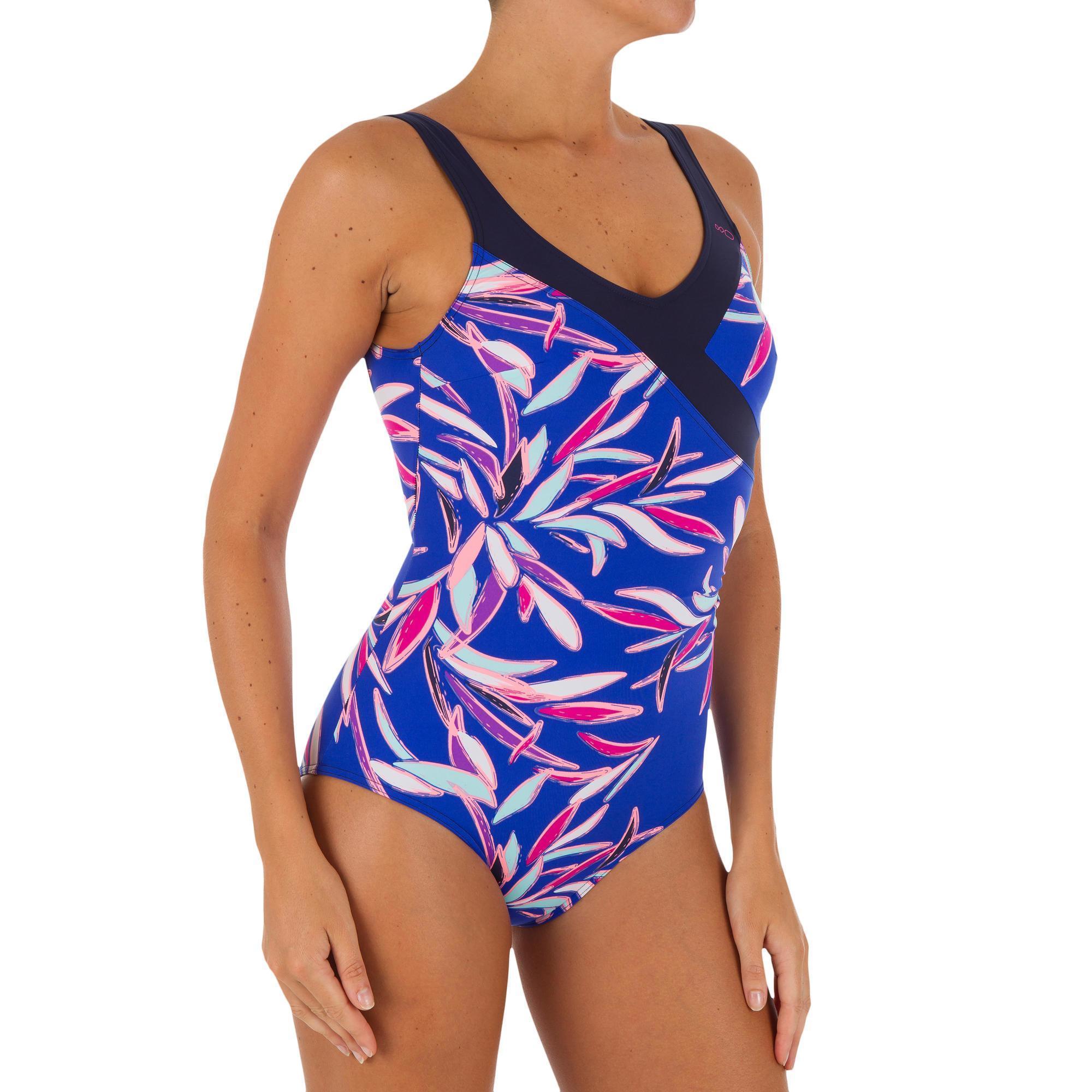 544dccafe9f36 maillot de bain nabaiji,GROUPE 2 Sports d u0027eau Maillot aquagym Karli noir  NABAIJI Aquagym, aquabike