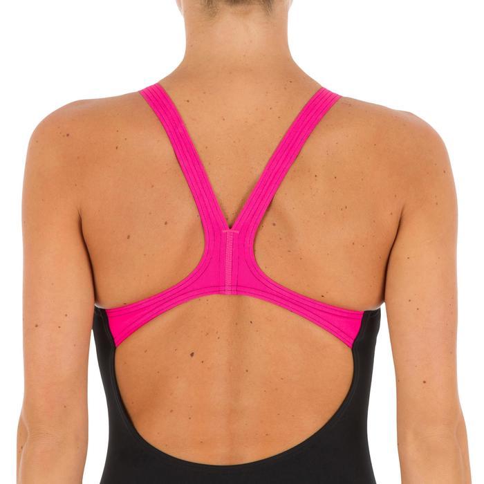 Badpak W Aster zwart/roze/blauw - 1084993