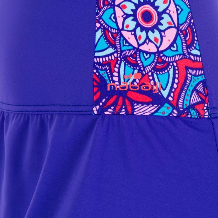 Vega Women's One-Piece Skirt Swimsuit - Purple