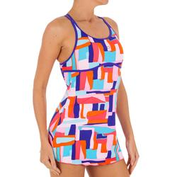 Riana Dress Women's One-Piece Swimsuit - Blue