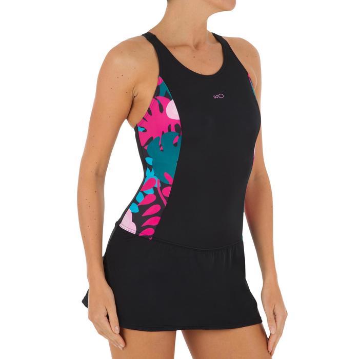 Vega Women's One-Piece Skirt Swimsuit - Black