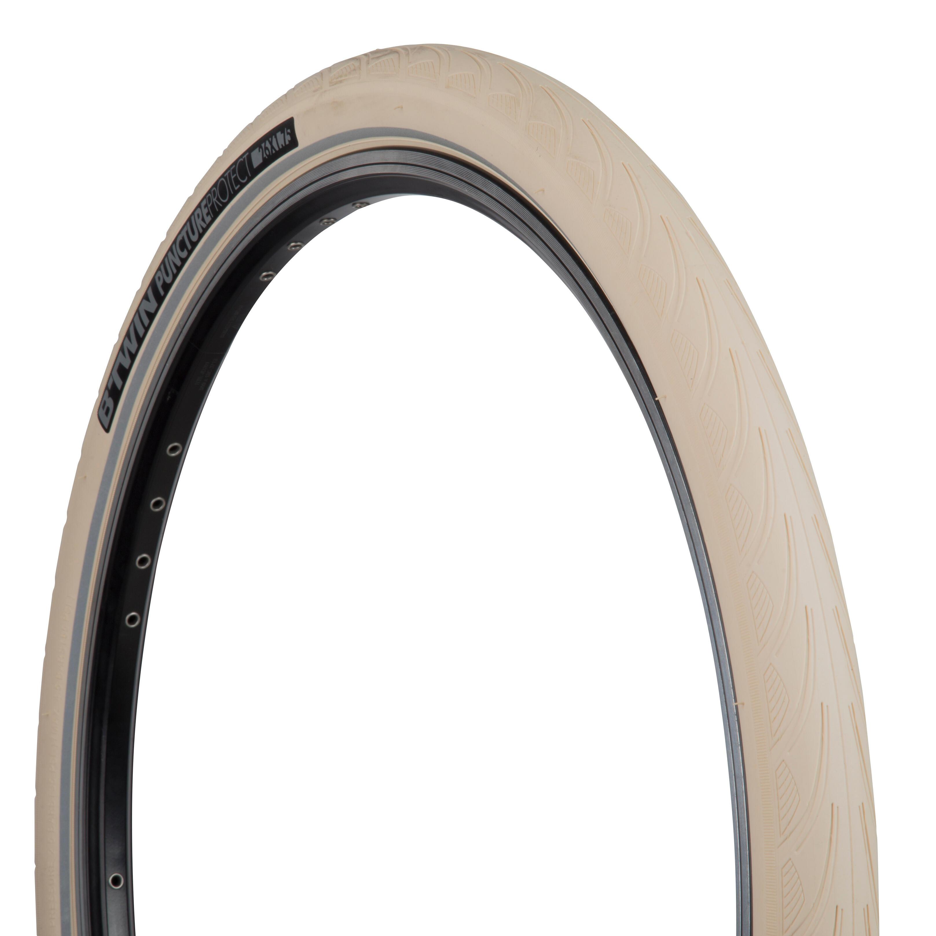 Tyre Urban Classic Line 26x1.75 Rigid Beige 305650380 DURO Cover City