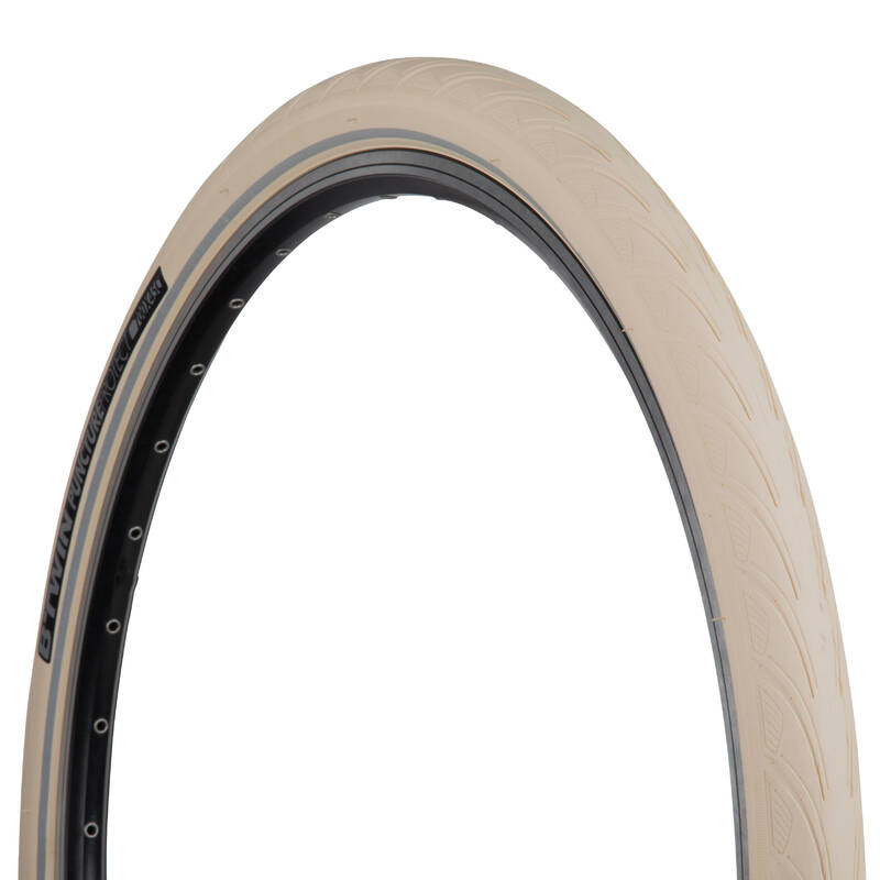 PLÁŠTĚ NA MĚSTSKÁ KOLA Cyklistika - MĚSTSKÝ PLÁŠŤ PROTECT 5×28 ELOPS - Náhradní díly a údržba kola