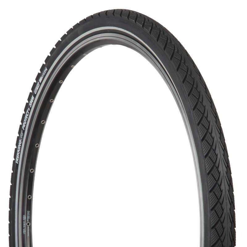 TYRES Cycling - Trekking 9 Grip Tyre 700x42 B'TWIN - Cycling