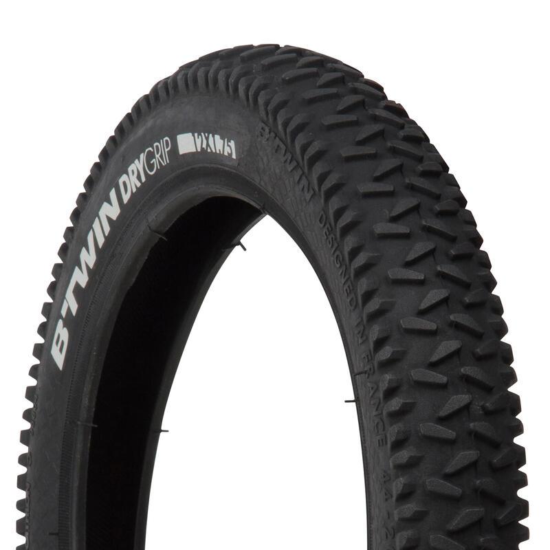 Dry Grip Kids' Mountain Bike Tyre - 12x1.75