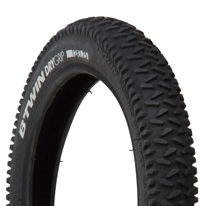 Buitenband mountainbike kind 12x1.75 stijve hieldraden / ETRTO 44-203