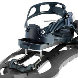 Raquetas Nieve Montaña Senderismo TSL 226 EVO Tamiz Grande Negro