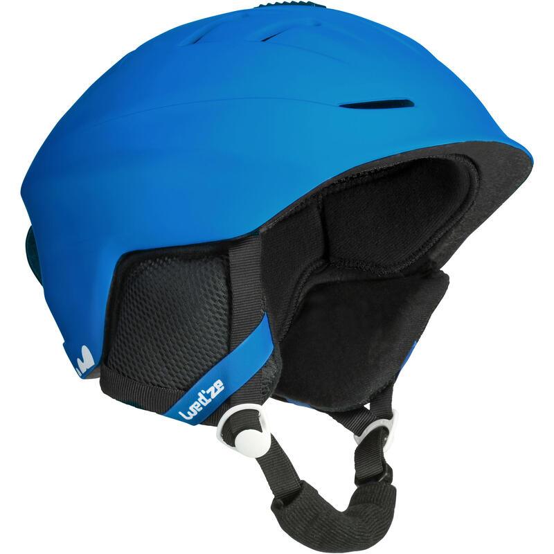 Cască Schi/Snowboard H300 Bleu Adulți