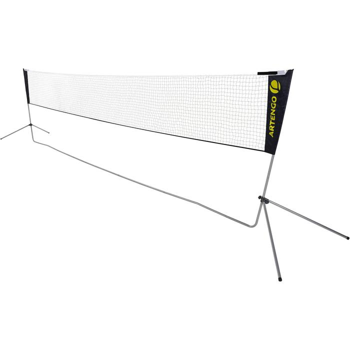 Filet De Badminton Avec Poteaux Dimension Officielle 6,10 m
