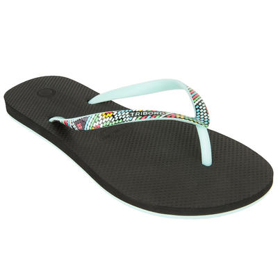 Women's Flip-Flops TO 500 Doty Black