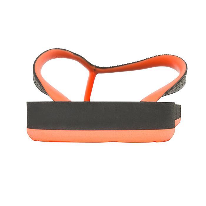 Herenslippers TO 500S zwart oranje