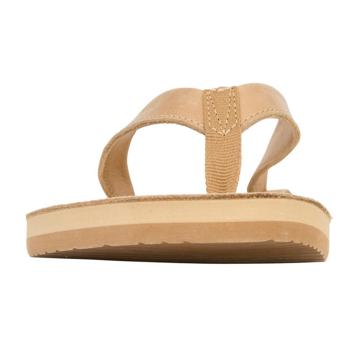 Tongs Femme TO 590 W Cuir Camel - 1085557