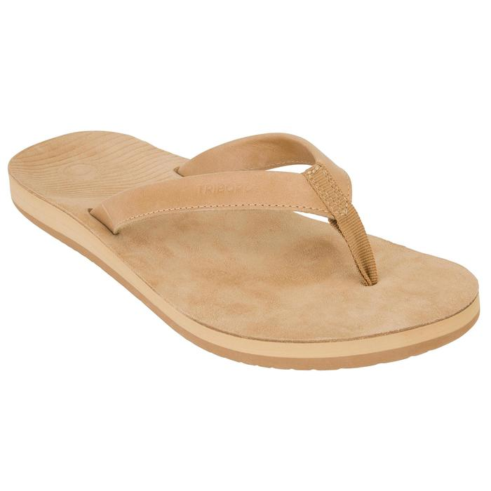 TONGS Femme TO 590 Cuir Camel