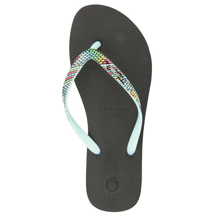 Slippers voor dames 500 Doty zwart