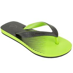 Chanclas junior TO 500S B Verde Negro