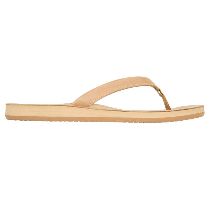Tongs Femme TO 590 W Cuir Camel - 1085659