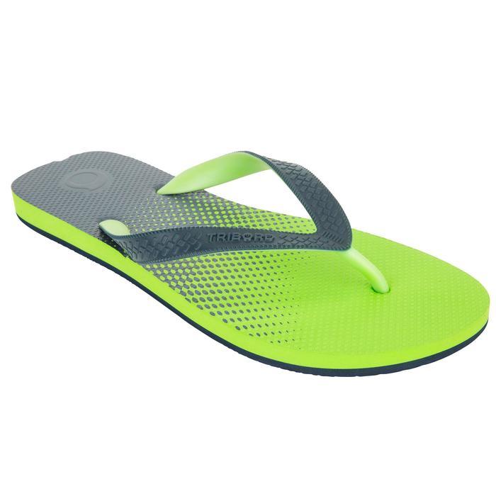Chanclas De Playa Surf Olaian TO 500 Hombre Verde Jazmín