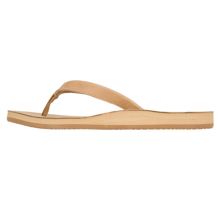 Tongs Femme TO 590 W Cuir Camel - 1085713