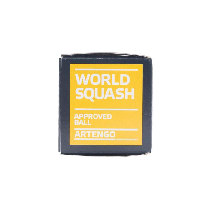PELOTA DE SQUASH SB 990 x1 Doble Punto amarillo