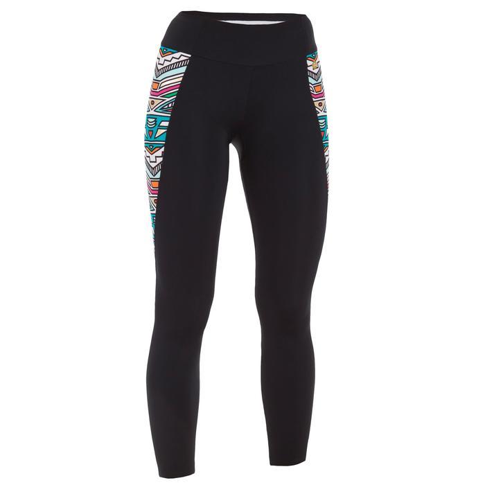 Bas de maillot de bain legging 7/8ème avec poche zippée dos UPF 50+ ZILA NCOLO - 1085983