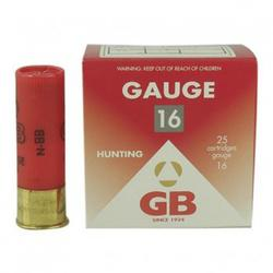 Cartucho Ball Trap GB CALIBRE 16 28Gr