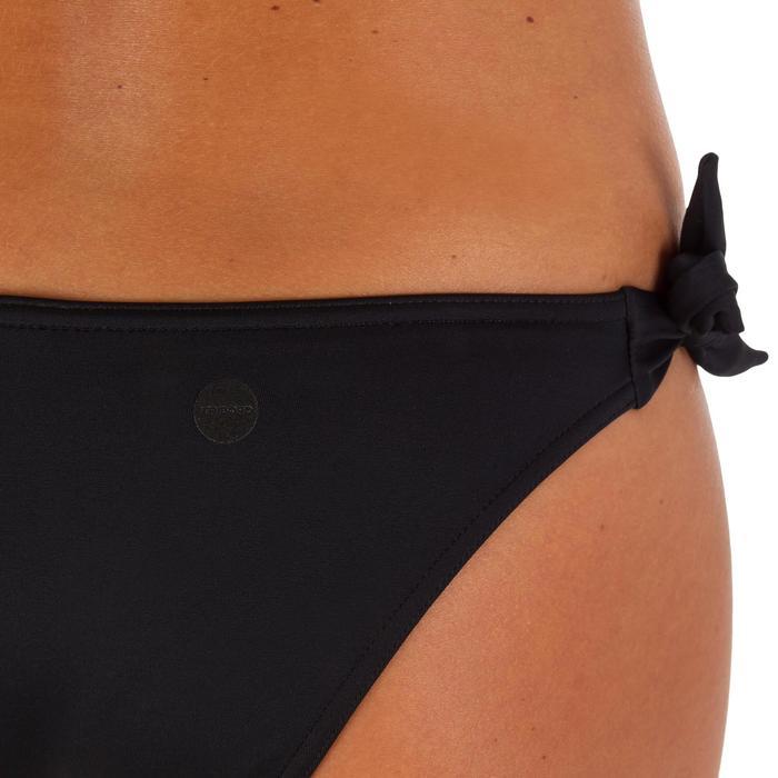 Bas de maillot de bain de surf femme échancrée et nouée côtés SABI COLORB - 1086116