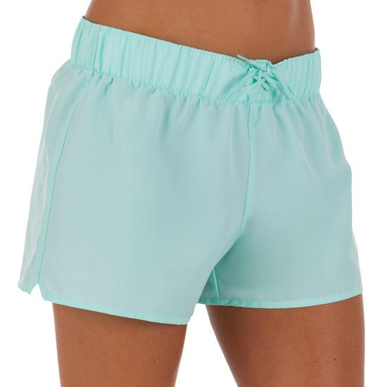 Boardshort dames Tana, effen met een elastische taille - 1086120