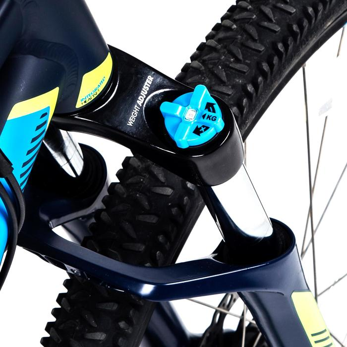 "Rockrider 520 27.5"" Mountain Bike - Navy Blue"