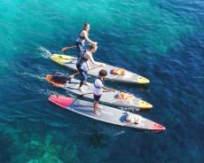 Stand up Paddle Board aufblasbar 12'6 für regelmäßige Touren