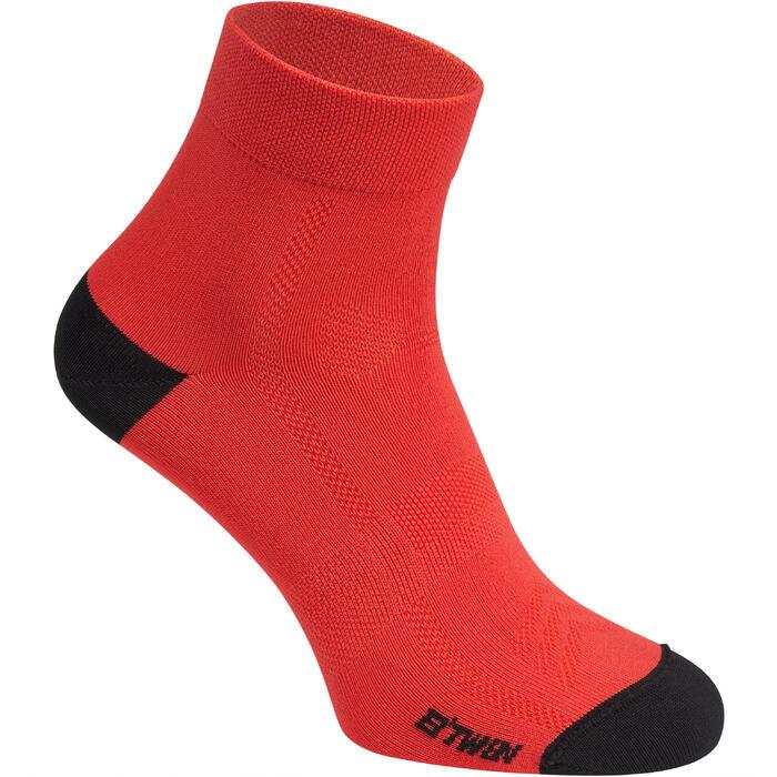 Calcetines ciclismo ROADR 500 rojo fluorescente