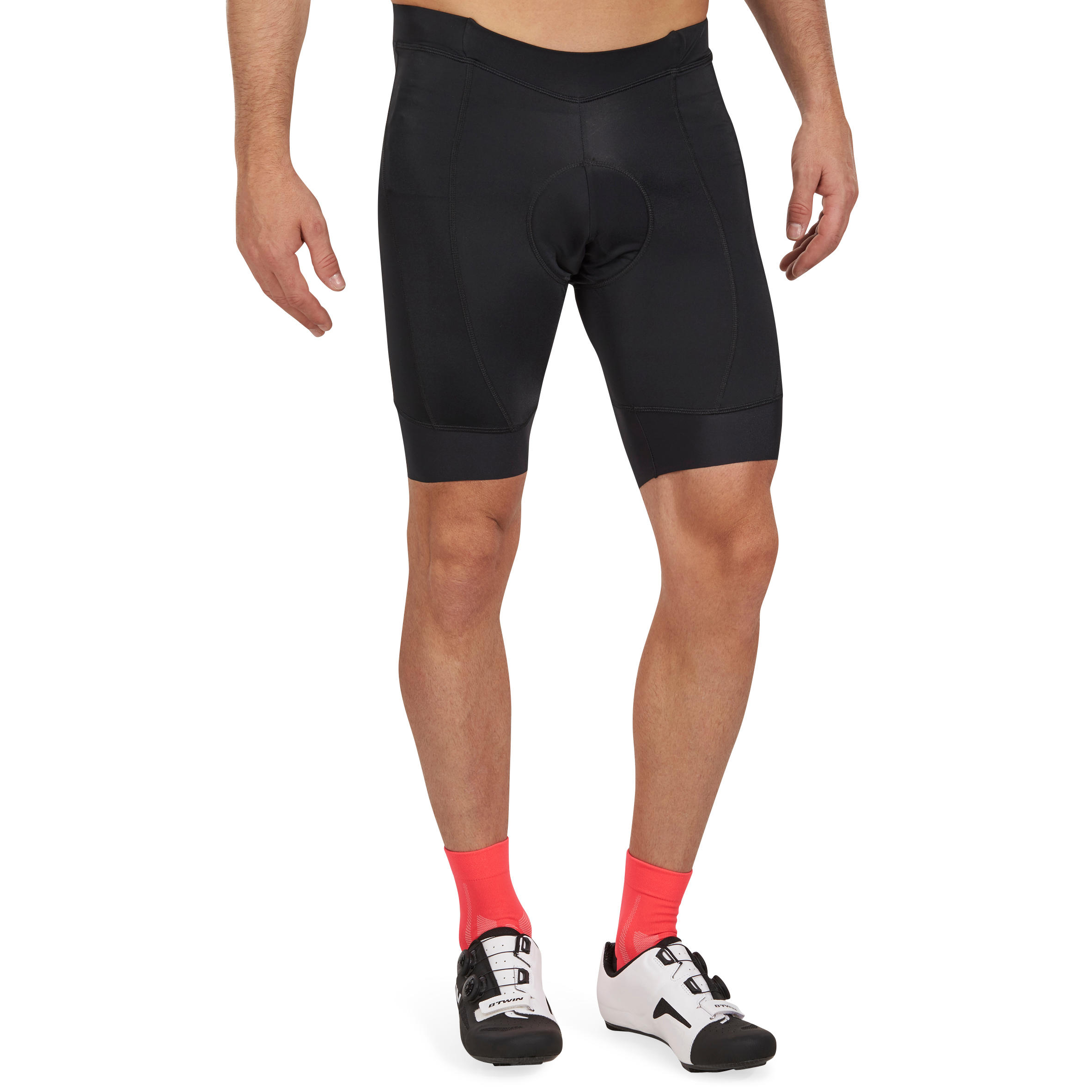 Roadcycling 900 Bibless Cycling Shorts - Black