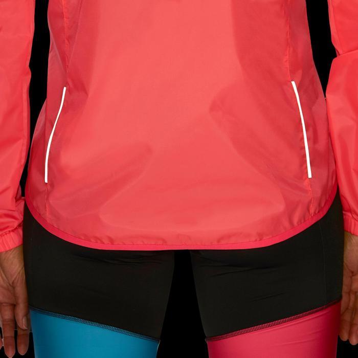 Fahrrad-Regenjacke 100 Damen rosa