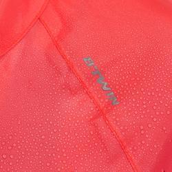 Fahrrad-Regenjacke Rennrad RC 100 Damen rosa