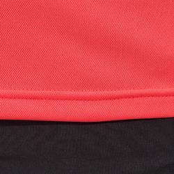 Wielershirt RC100 met korte mouwen voor dames roze