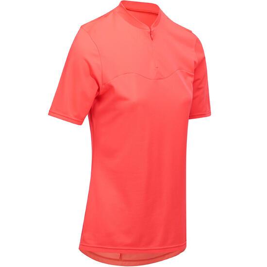 Fietsshirt met korte mouwen dames 100 - 1086683