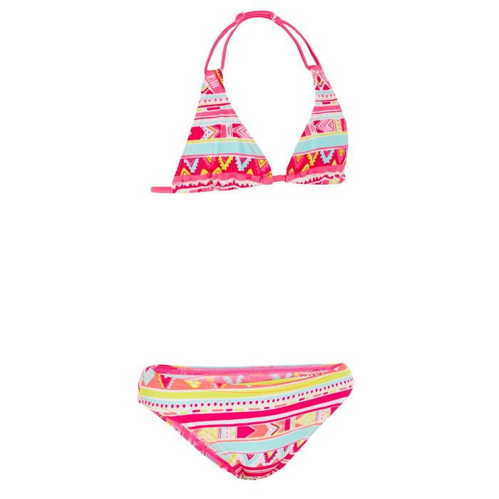 Bikini para niña con sujetador triángulos GEO ROSA